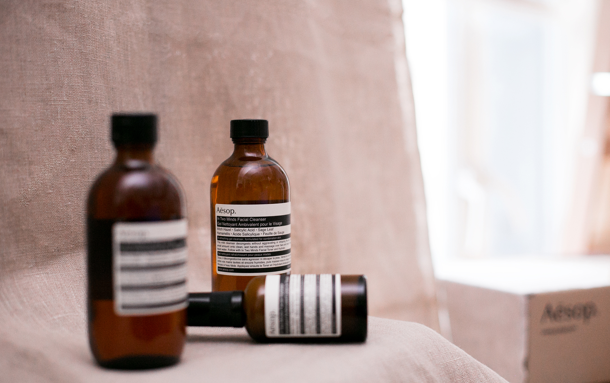 We Try Out Aesop's Latest 3-Step Skincare Regime
