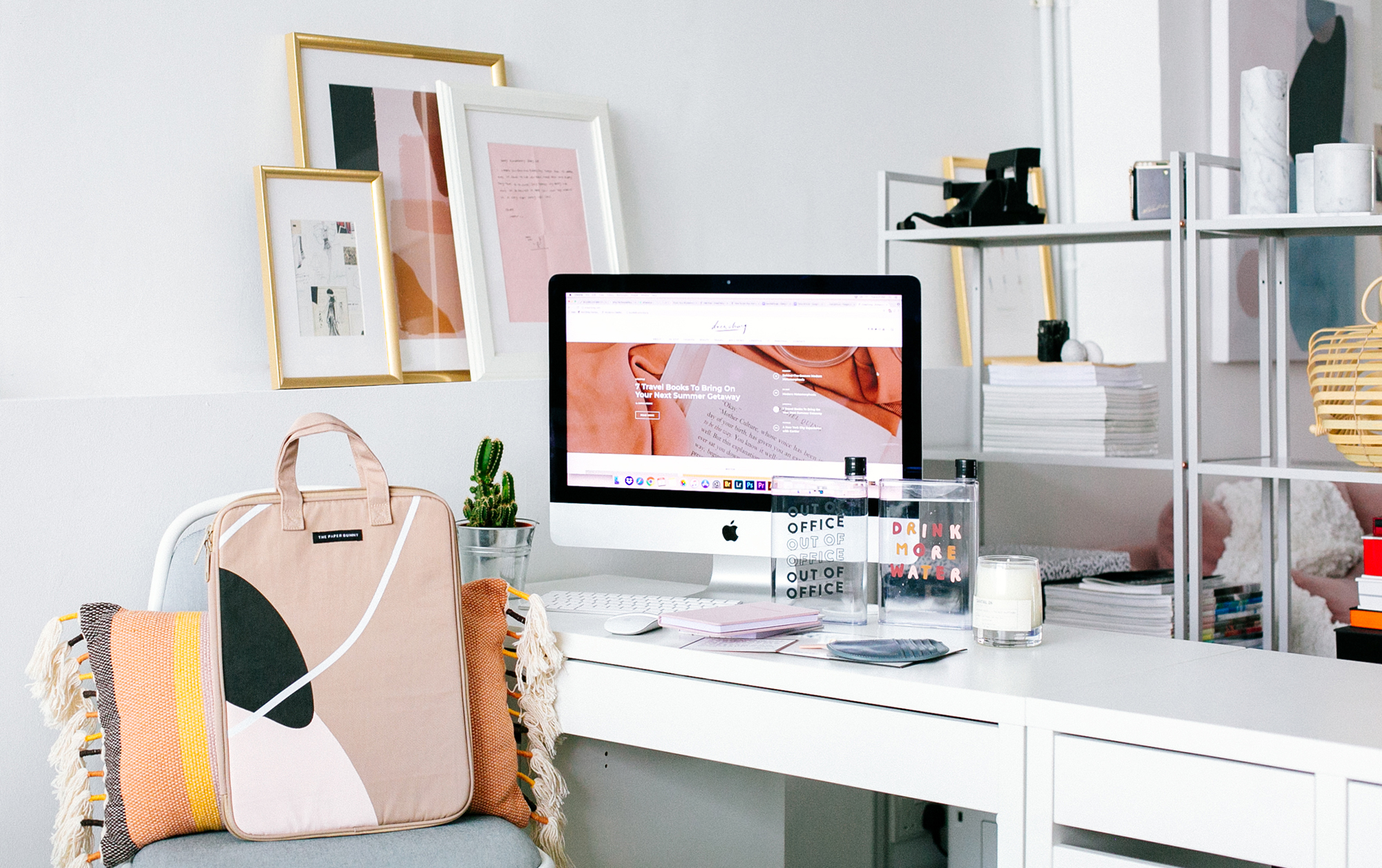 A Simple Guide To Sprucing Up Your Office Desk + A Giveaway!