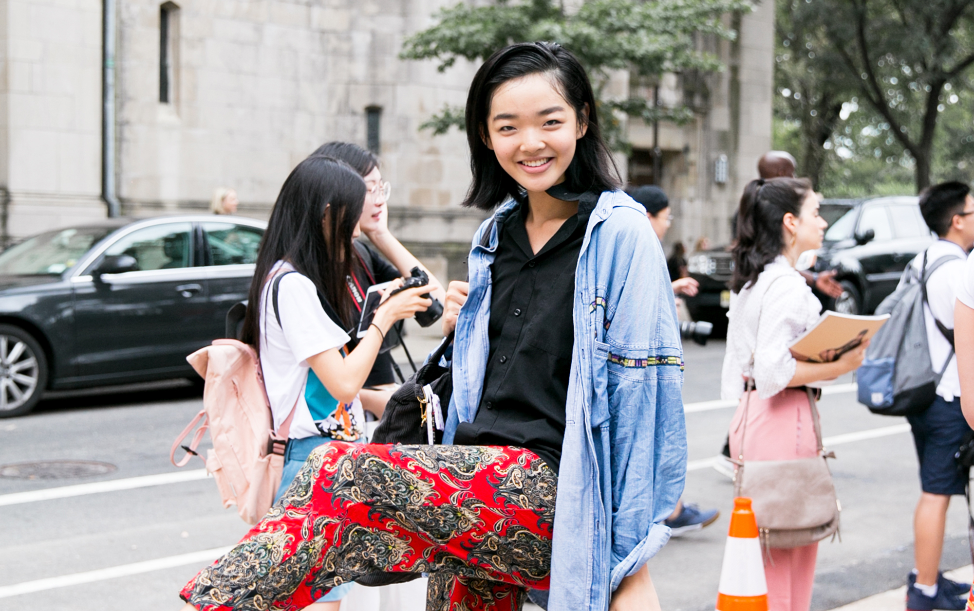 This Local Fashion Model Made Her NYFW Debut With Tory Burch