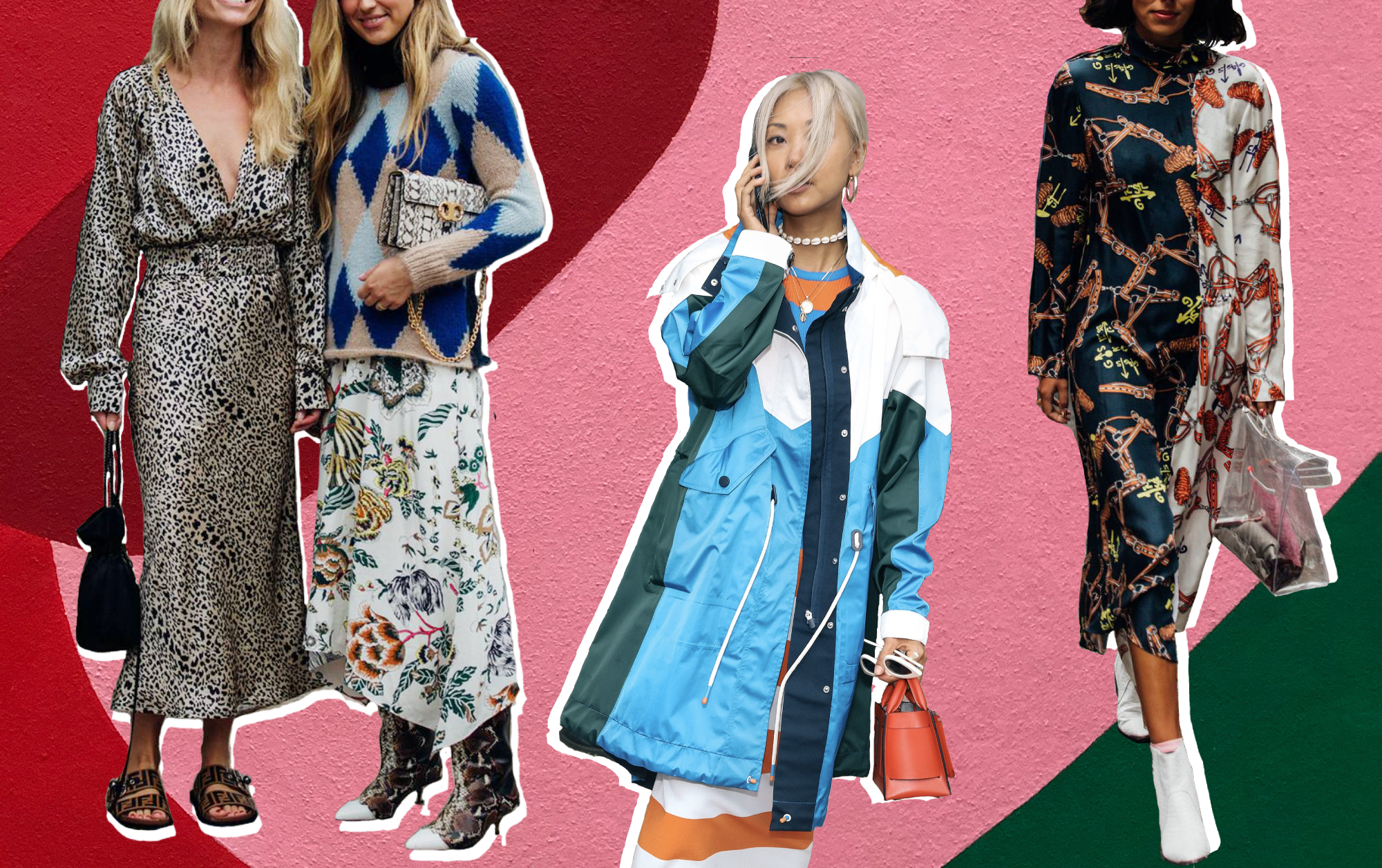 How To Nail The Mixed Print Trend Like A Street Style Star