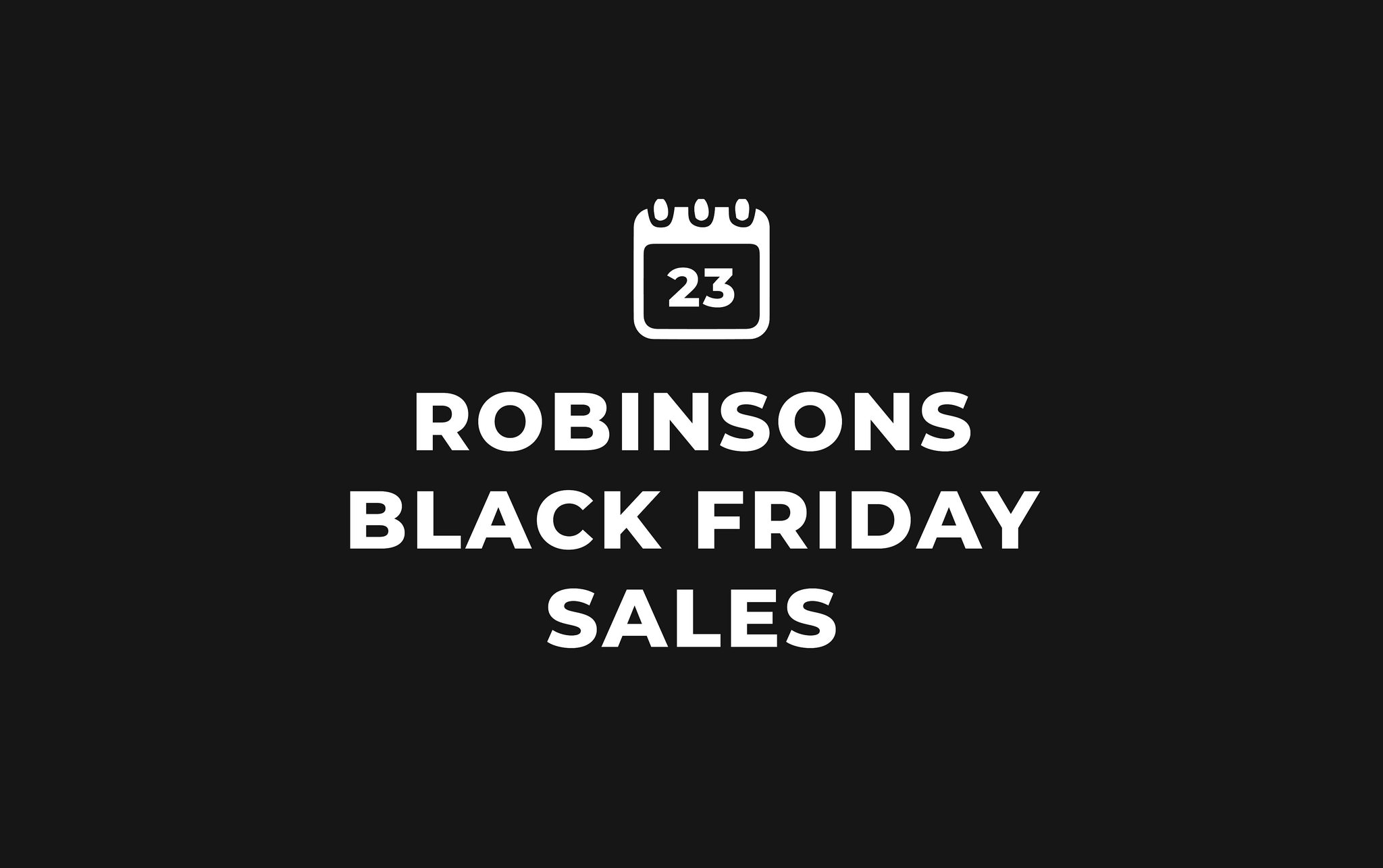 Robinsons Is Having A 24-Hour Shopping Spree This Black Friday!