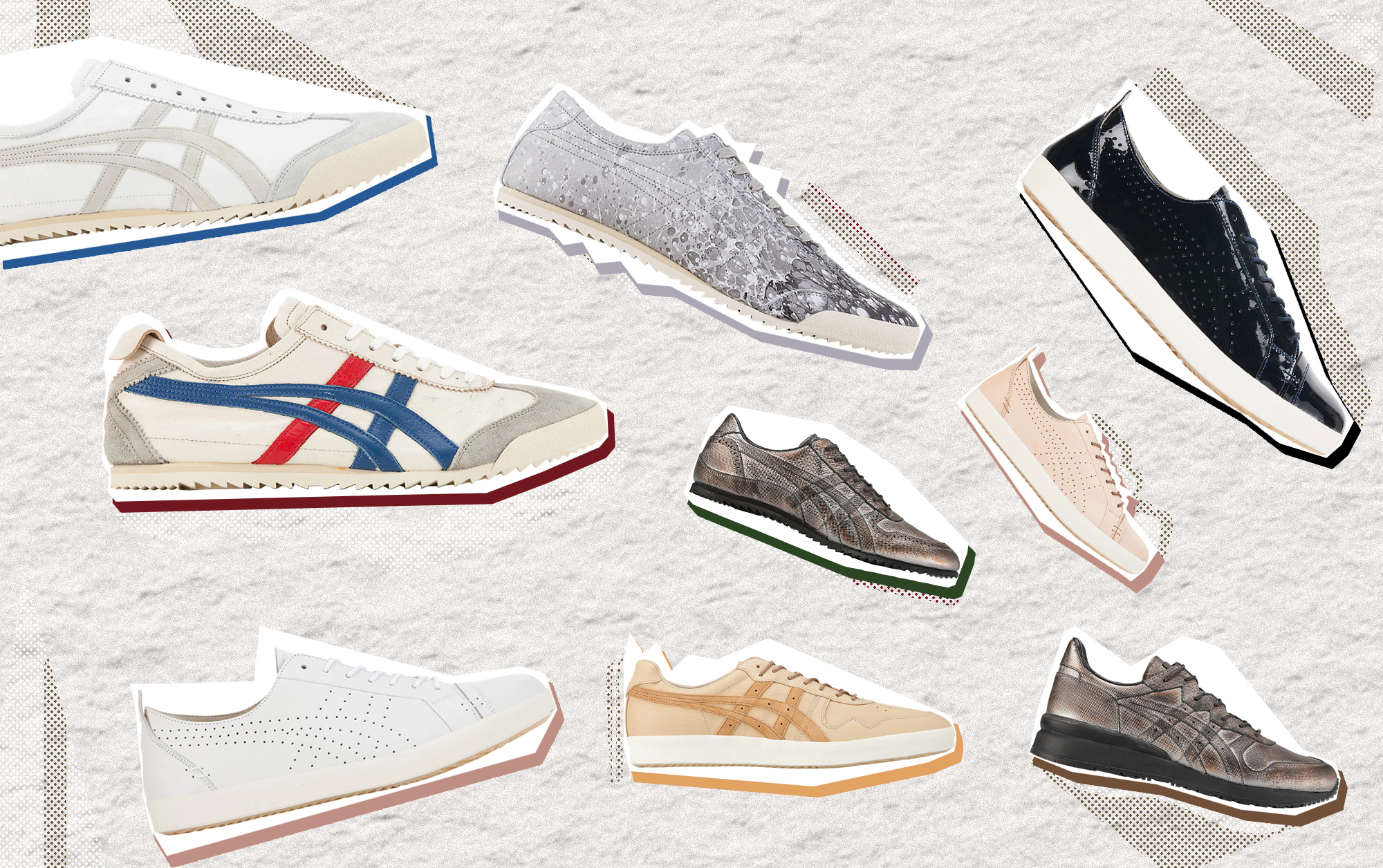 Shop The Exclusive Nippon Made Collection At The New Onitsuka Tiger Takashimaya Store