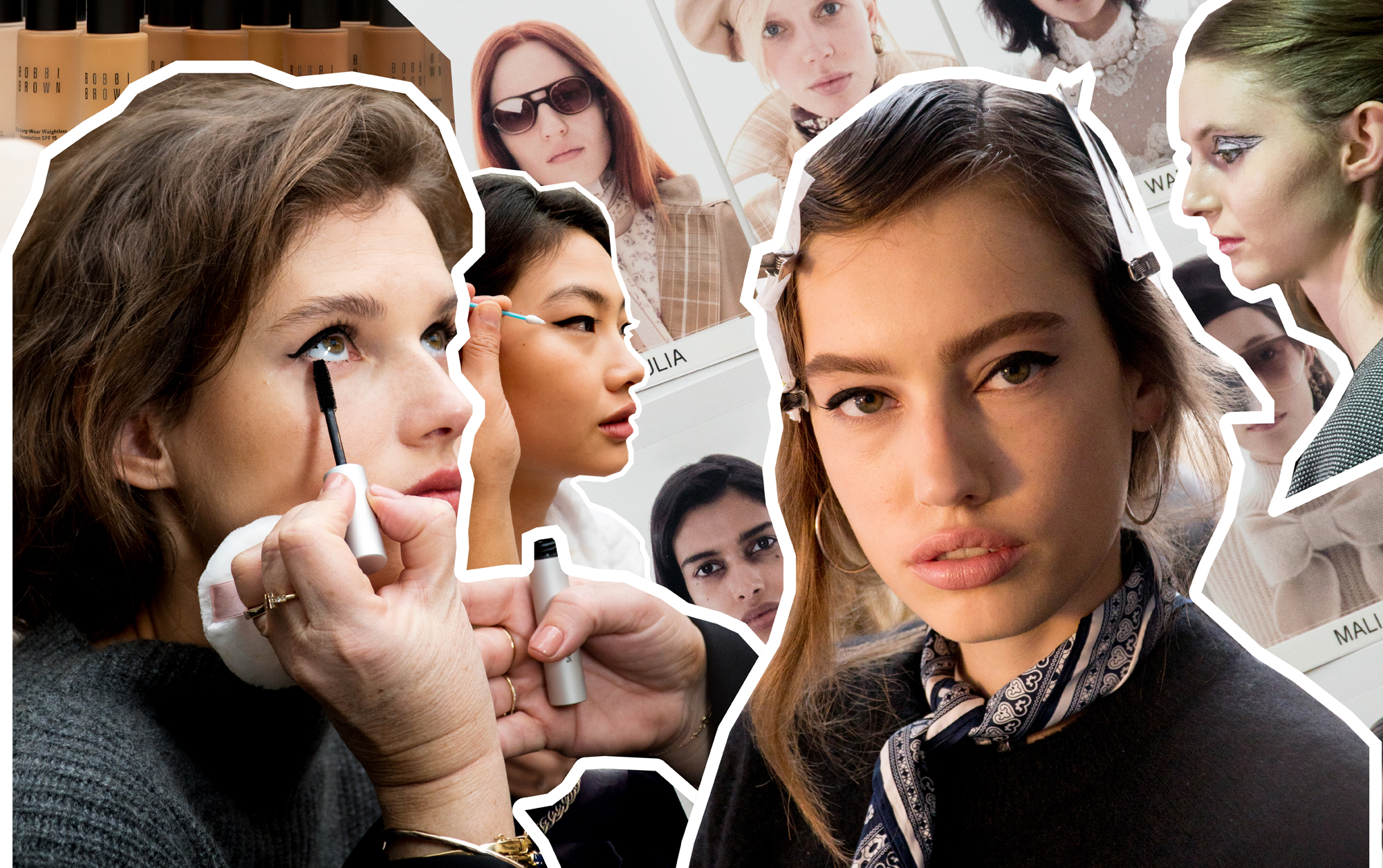 Bobbi Brown Backstage Beauty: How To Get Dewy Skin & The Perfect Cat Eye