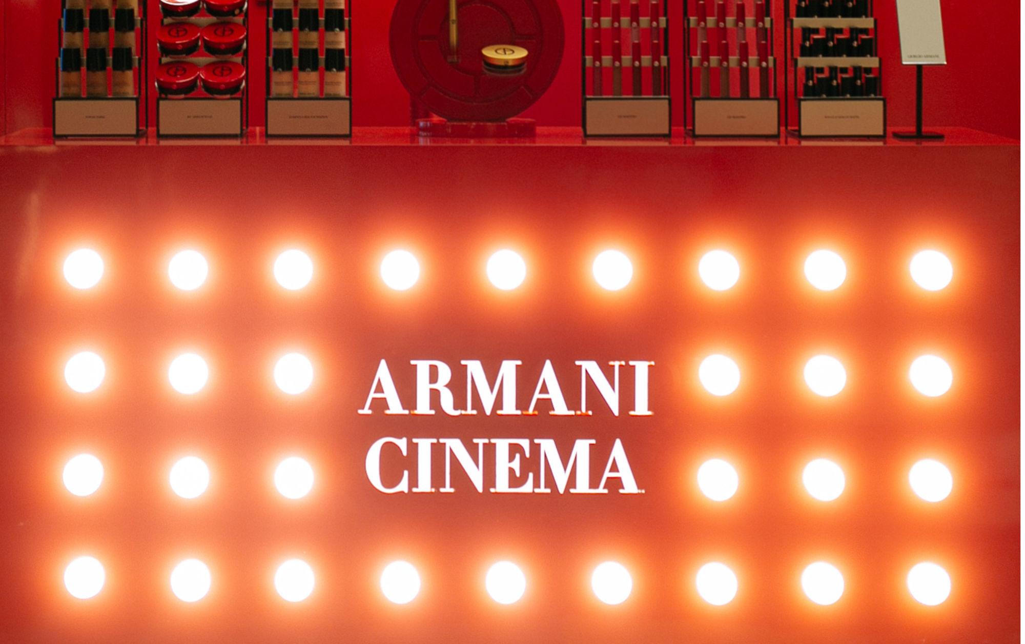 Giorgio Armani Beauty Reimagines Hollywood Glamour at the Armani Cinema
