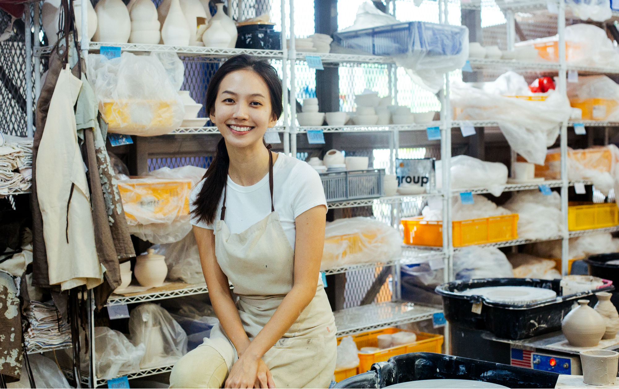 Career Feature: Belle Lam, From Chemist to Potter
