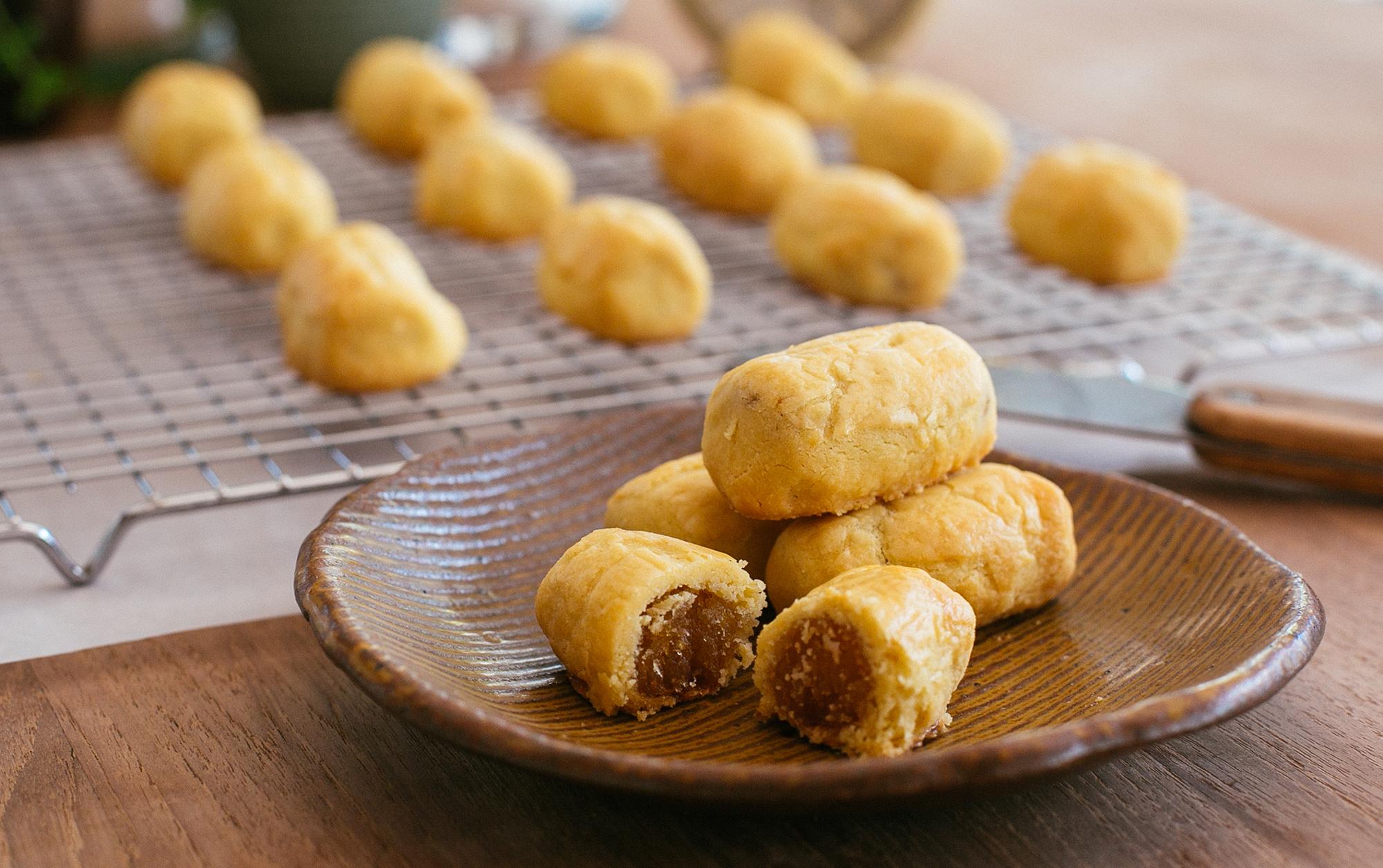 Andrea's Pineapple Tart Recipe for CNY