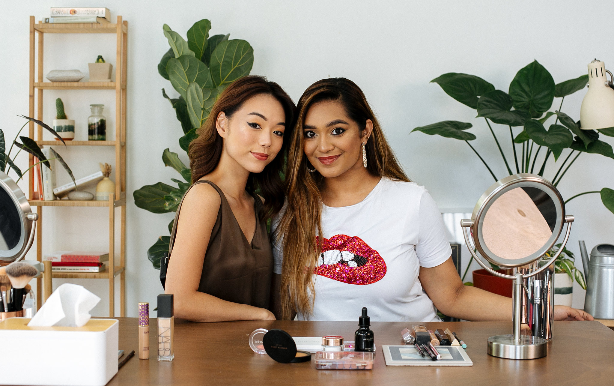 Revealed: Sahur Saleim Gives Us A Private Masterclass On Sultry Glam