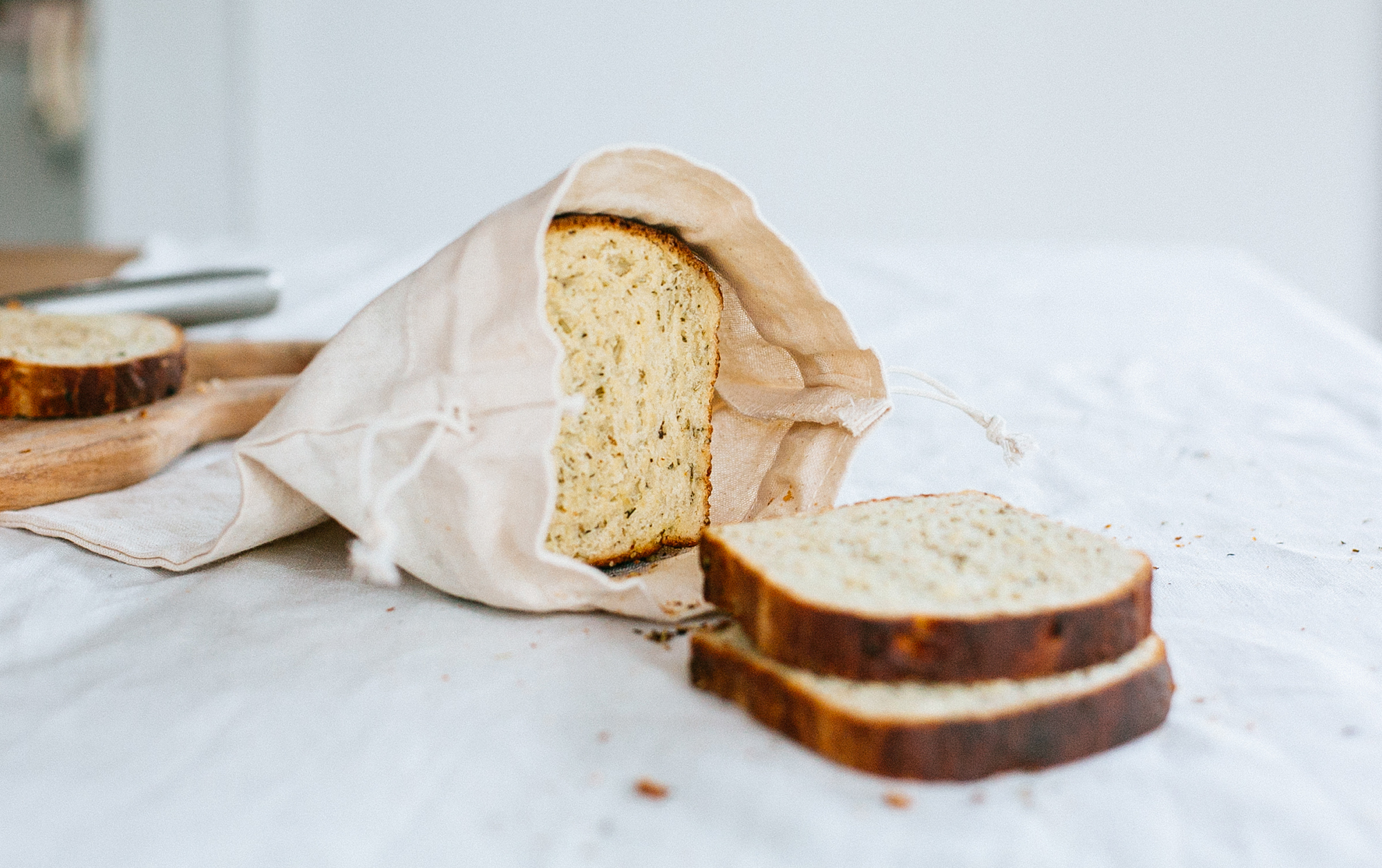 Rosemary Garlic Focaccia Loaf Recipe
