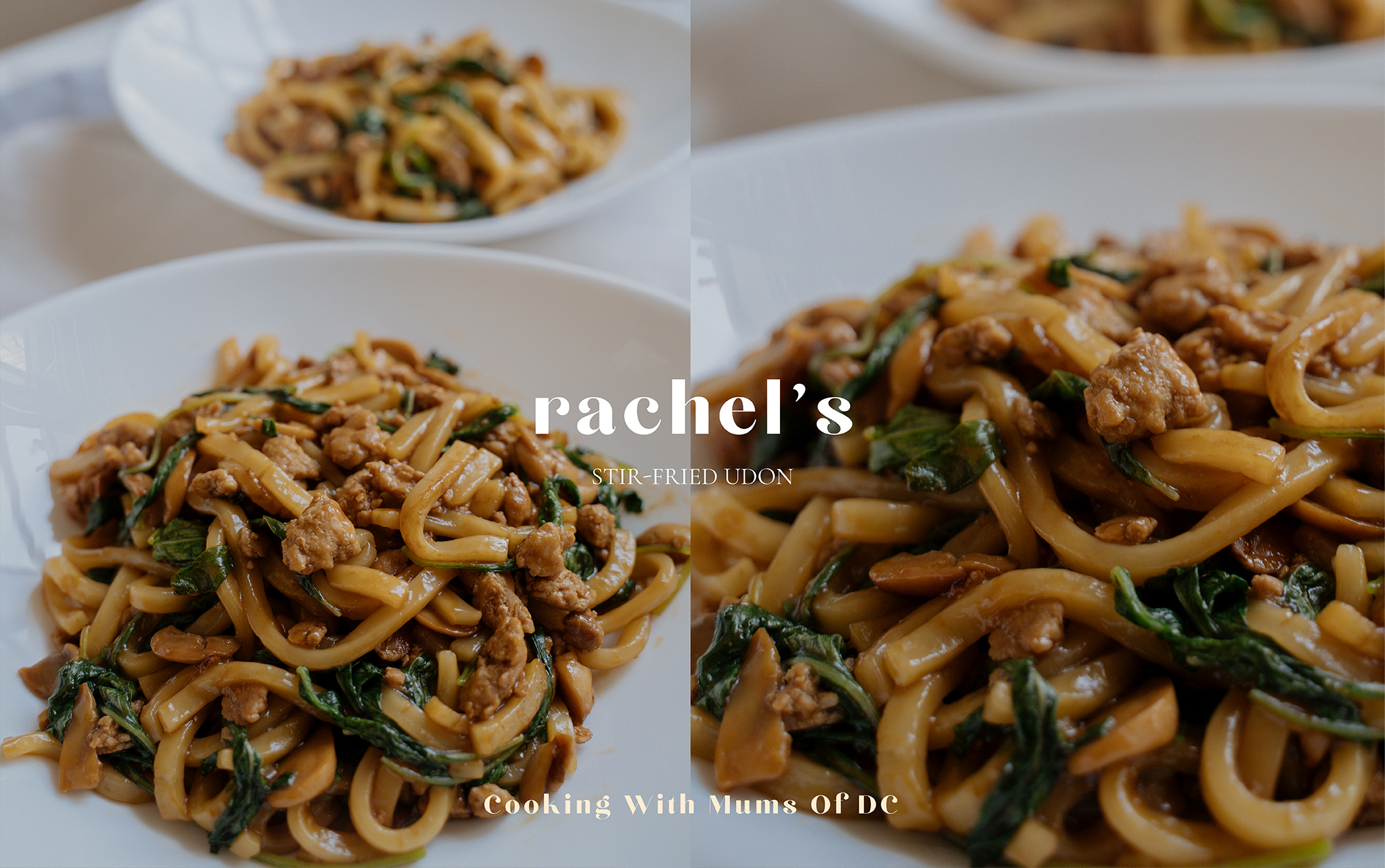 Cooking With Mums Of DC: Rachel's Stir-Fried Udon Recipe