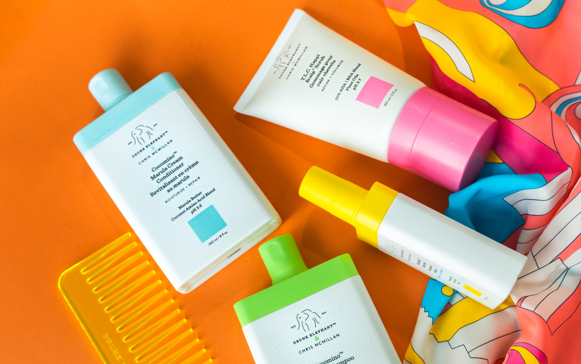 Haircare Diaries: I Tried Drunk Elephant's New Haircare Range