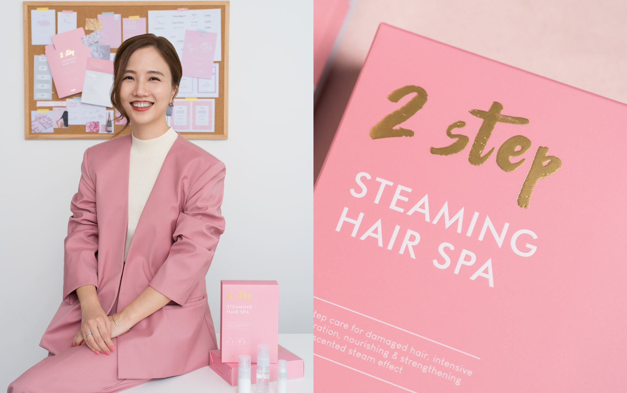 Jungmin Lee On Jung Beauty & The Most Affordable Salon-Worthy Hair Yet