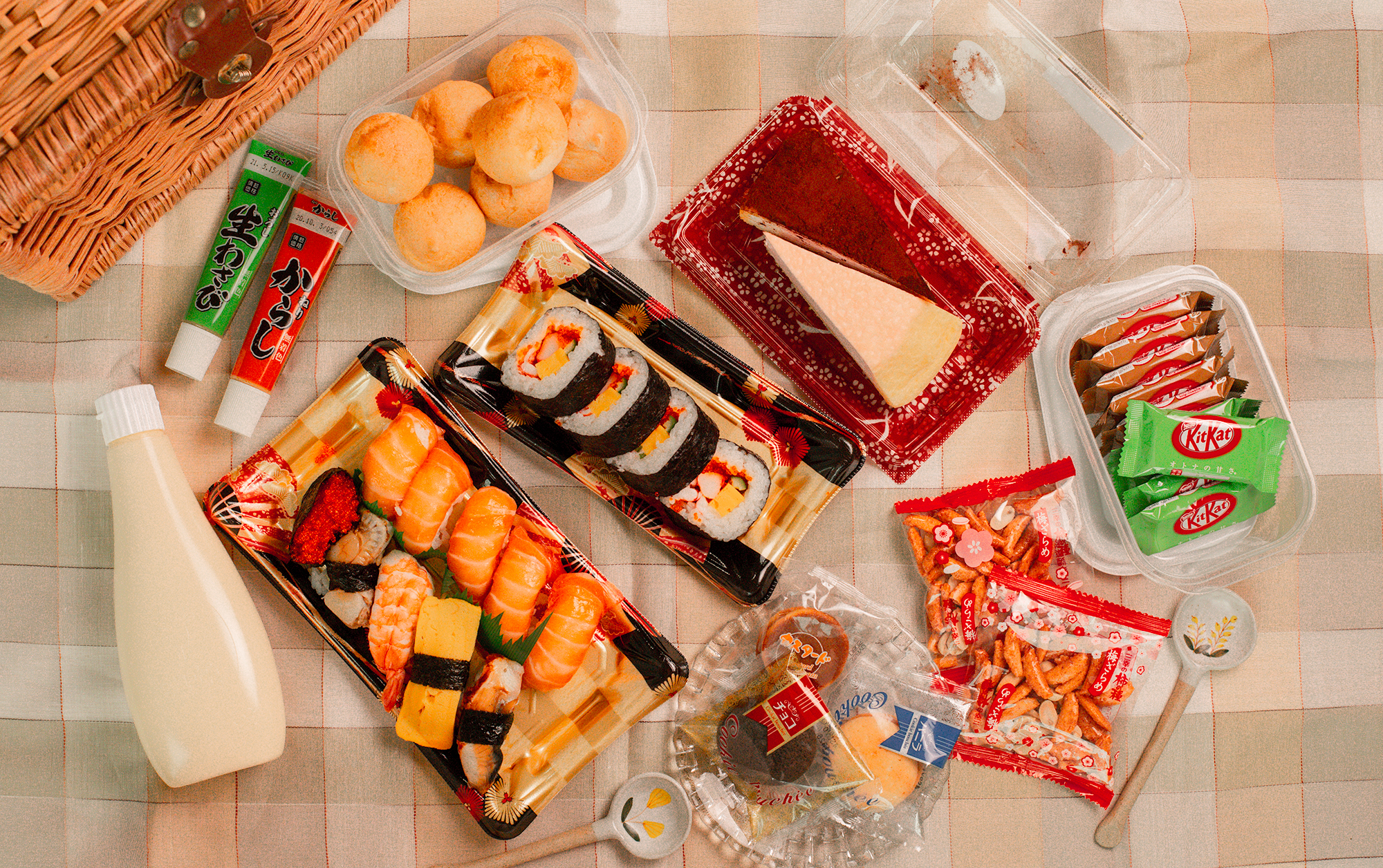 Everything You Need For An Aesthetic Japanese-Inspired Picnic Ft. DON DON DONKI