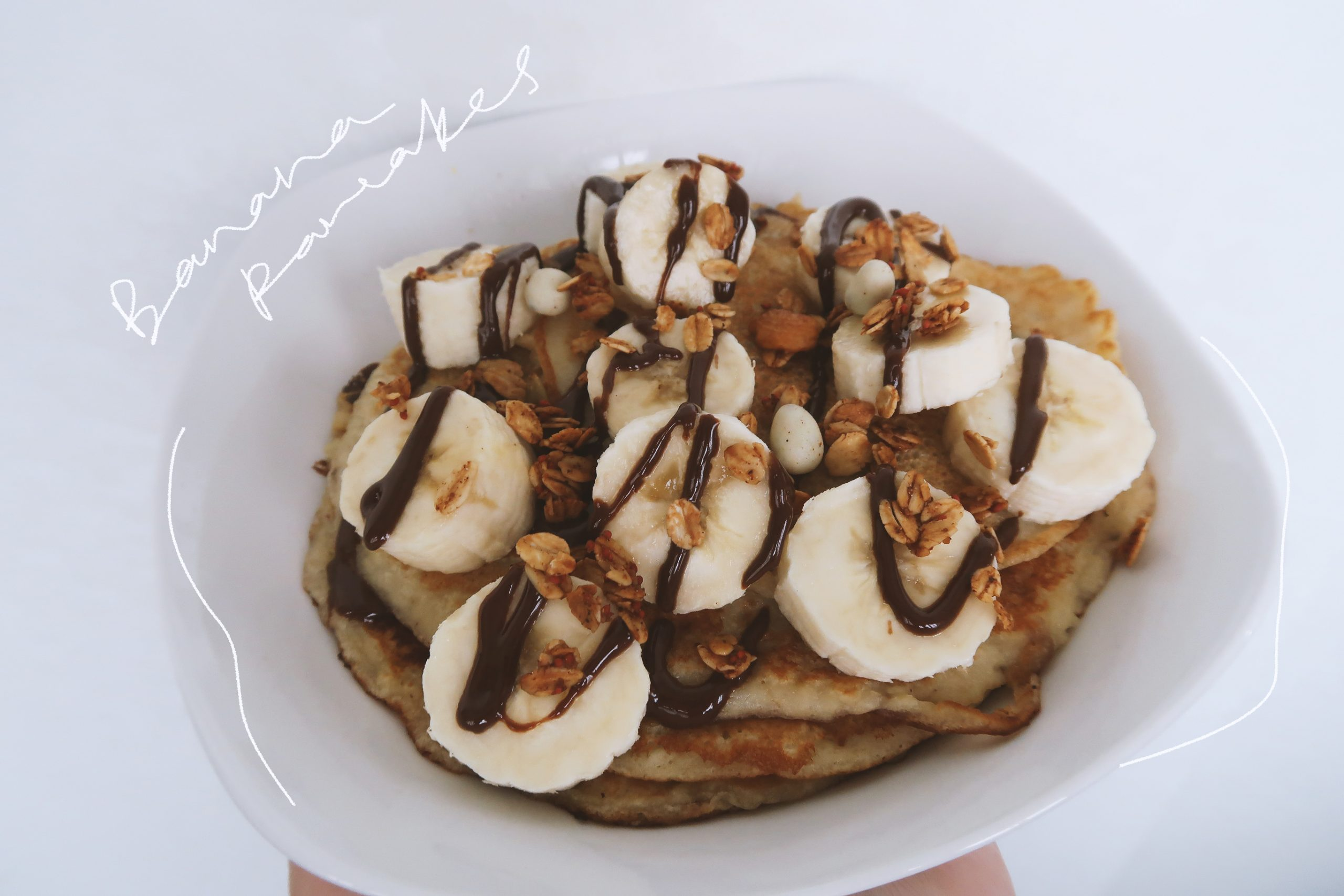 In The Kitchen With DC: Chocolatey Nutty Banana Pancakes