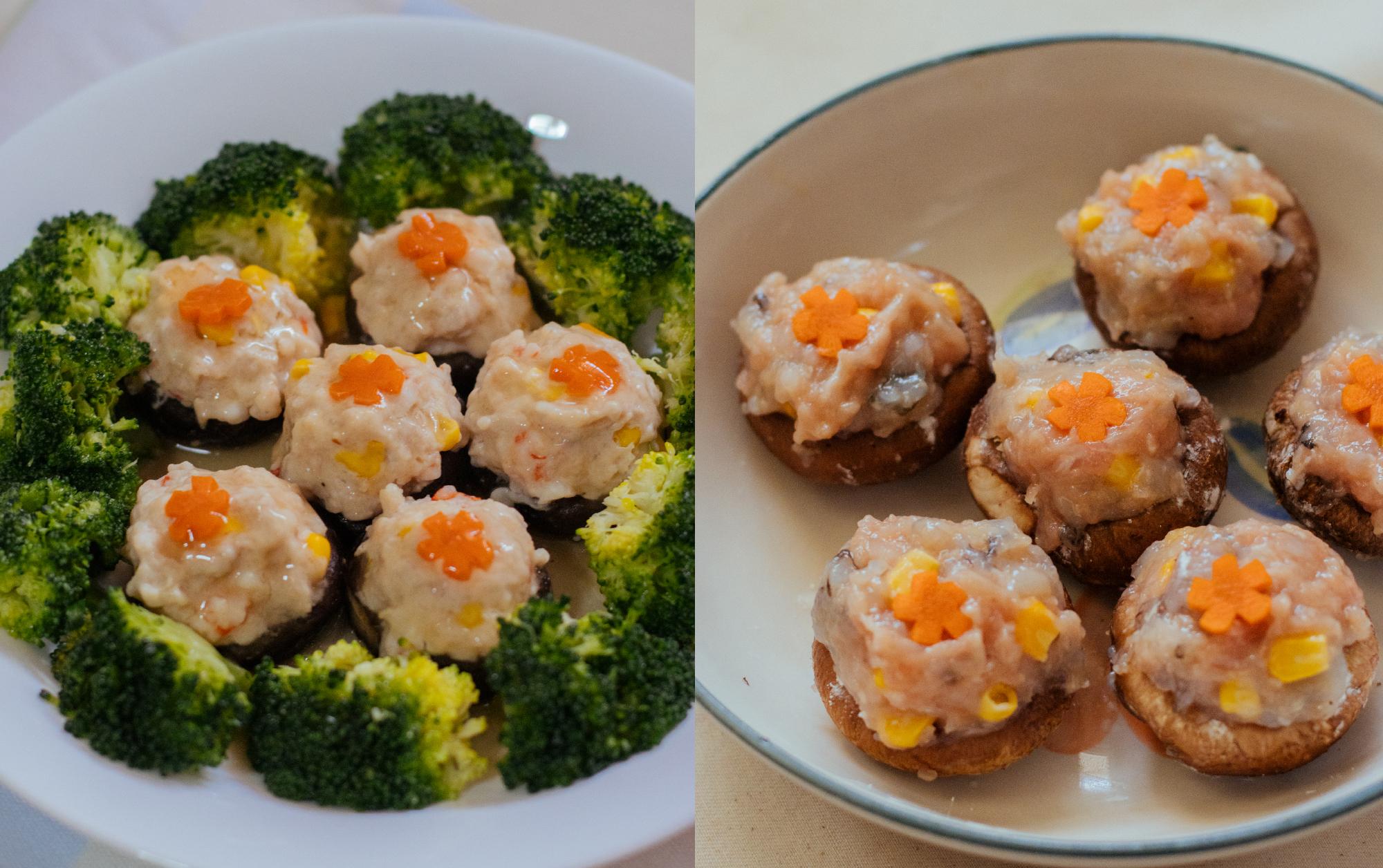 Cooking With Mums Of DC Edit: Yokey's Minced Pork & Prawns Stuffed Mushroom Recipe
