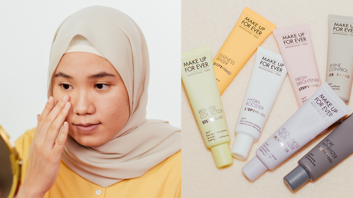 #SheByDC: Reviewing Make Up Forever's Step 1 Primers