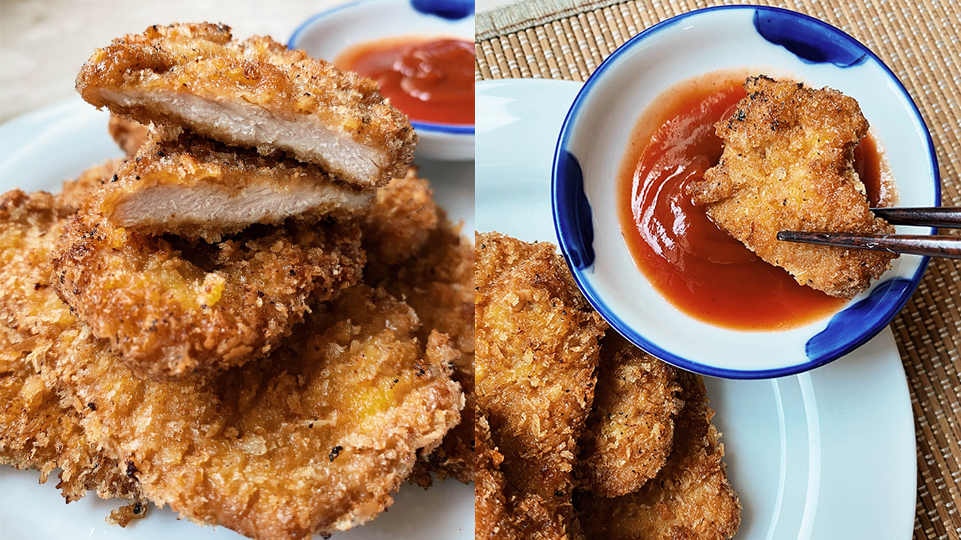 Cooking With Mums Of DC Edit: Angie's Chinese Breaded Pork Chops Recipe